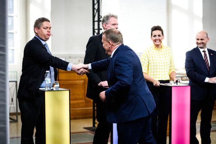 790b20cb4 Rasmus Paludan, Klaus Riskær Pedersen, Pia Olsen Dyhr, Søren Pape Poulsen  og Lars