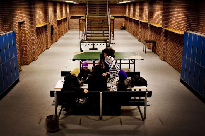 Andelen af unge i gymnasierne med ikke-vestlige rødder udgør nu godt ti procent mod blot seks procent tilbage i 2005. Foto: Ritzau Scanpix