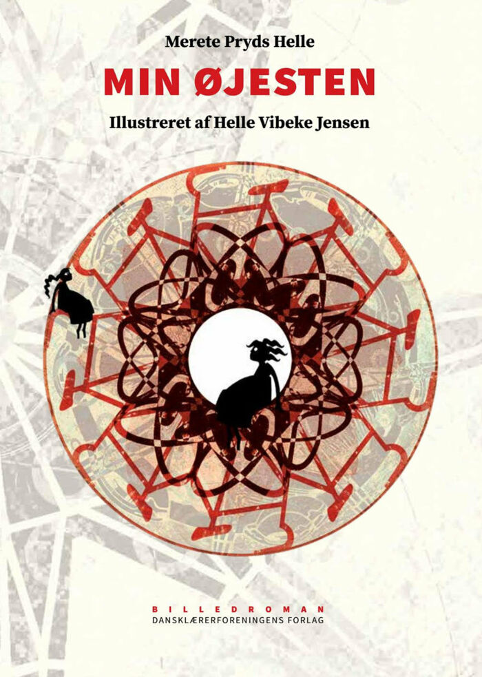 Min øjesteni skrevet af Merete Pryds Helle med illustrationer af Helle Vibeke Jensen. Foto: omslag fra bogen