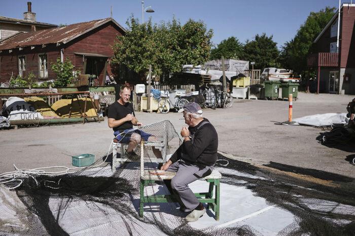 Brian Kyed (tv) og Poul Rasmussen. Foto: Asbjørn Sand