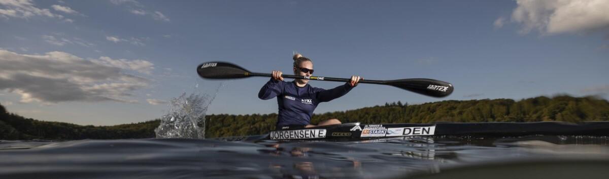 <p>Emma Aastrand Jørgensen er nu verdens bedste i kajakroning, men hun har stort set ikke været til at slå, siden hun som 13-årig satte sig i det smalle fartøj. Foto: Jesper Gronnemark</p> Foto: